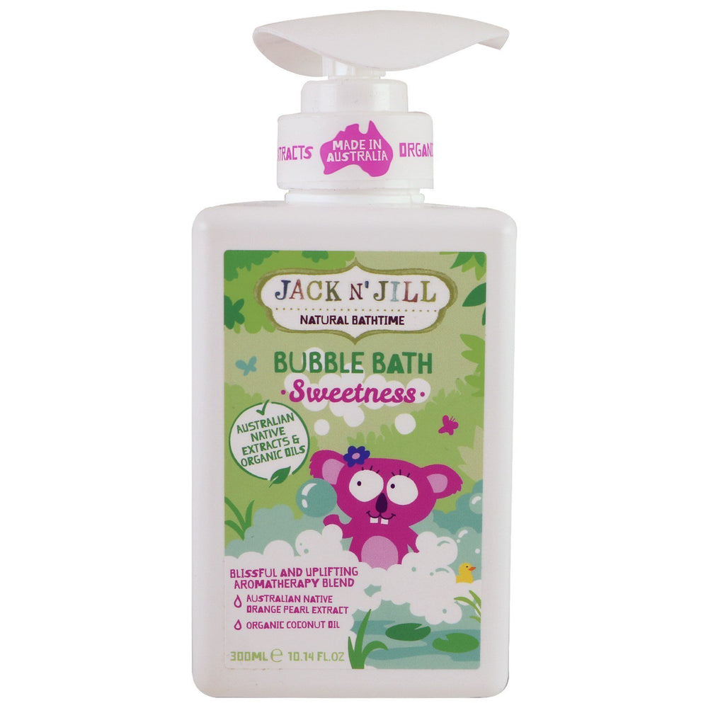 Jack N' Jill Natural Bathtime Sweetness Bubble Bath - Naked Baby Eco Boutique