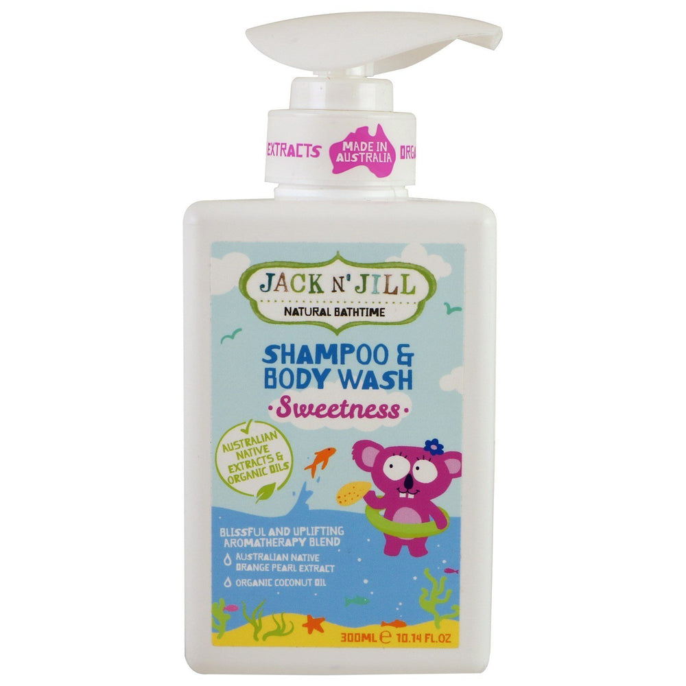 Jack N' Jill Natural Bathtime Sweetness Shampoo & Body Wash