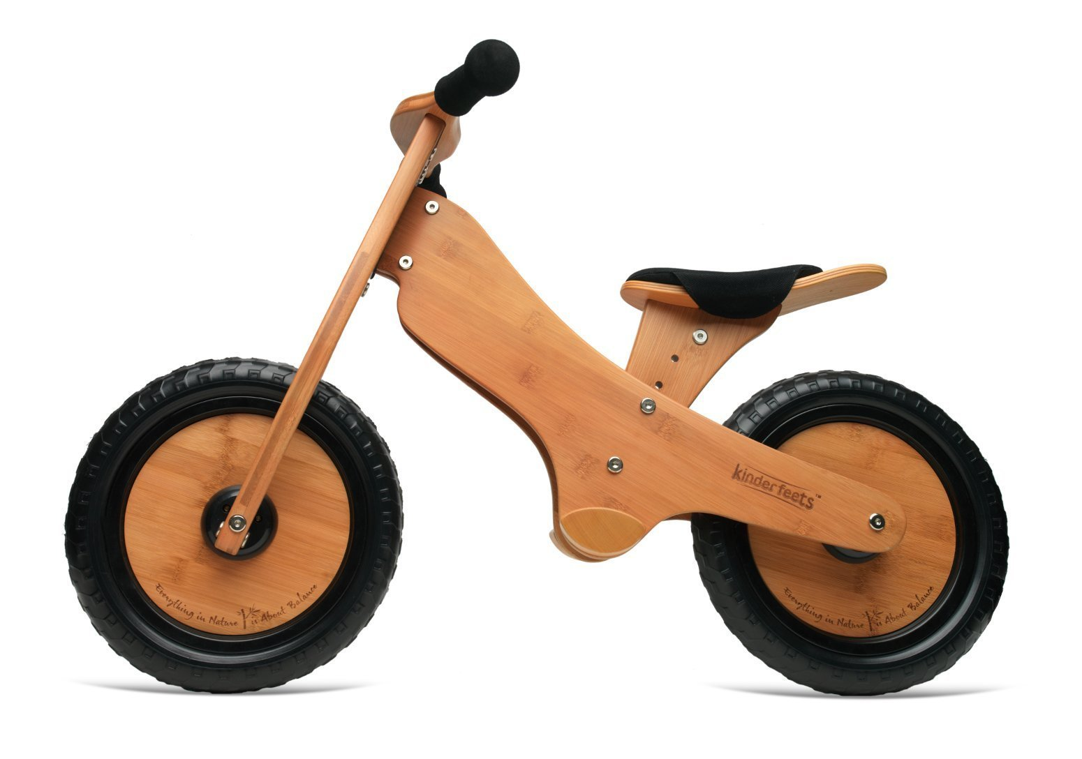 Kinderfeets Bamboo Classic Balance Bike - Naked Baby Eco Boutique