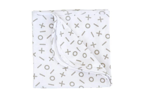 Kitty & Sparrow Folded Tic Tac Toe Blanket - Naked Baby Eco Boutique - New Zealand Eco Friendly Organic Baby Products - 3
