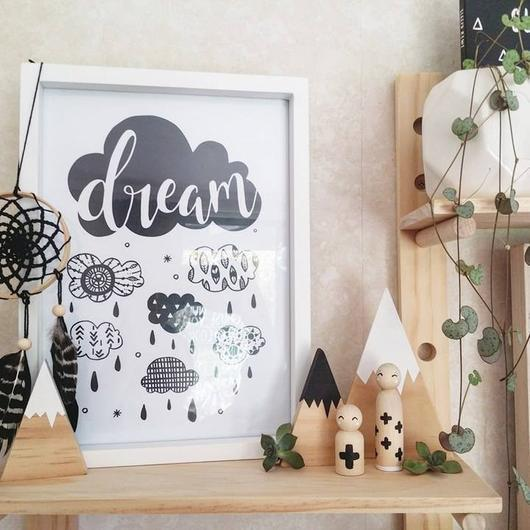 "KP Designs A4 ""Dream"" Print - Naked Baby Eco Boutique"