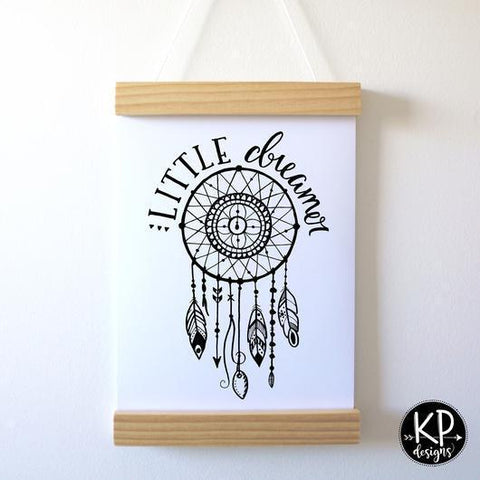 "KP Designs A4 ""Little Dreamer"" Print - Naked Baby Eco Boutique"