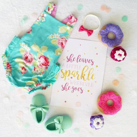 "KP Designs A4 ""Sparkle"" Print - Naked Baby Eco Boutique"