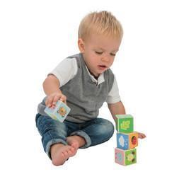 Le Toy Van Little Leaf Blocks - Naked Baby Eco Boutique - New Zealand Eco Friendly Organic Baby Products - 2
