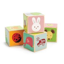 Le Toy Van Little Leaf Blocks - Naked Baby Eco Boutique - New Zealand Eco Friendly Organic Baby Products - 1