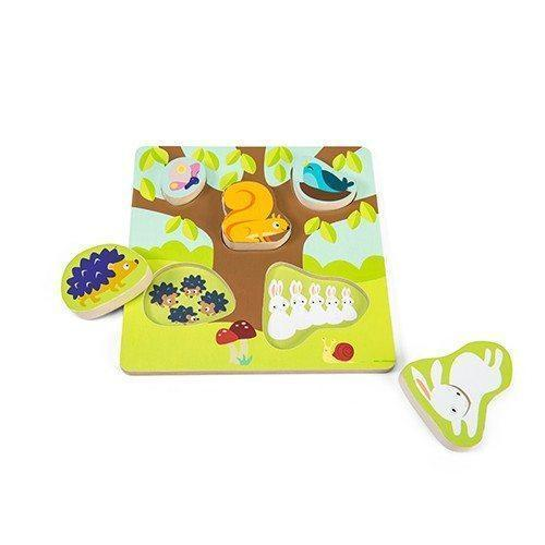 Le Toy Van Mama Baby Counting Puzzle - Naked Baby Eco Boutique