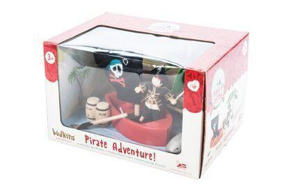 Le Toy Van Pirate Adventure Play Set - Naked Baby Eco Boutique - New Zealand Eco Friendly Organic Baby Products - 2