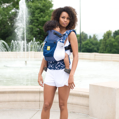 LÍLLÉbaby Complete Airflow Anchor's Away Baby Carrier - Naked Baby Eco Boutique