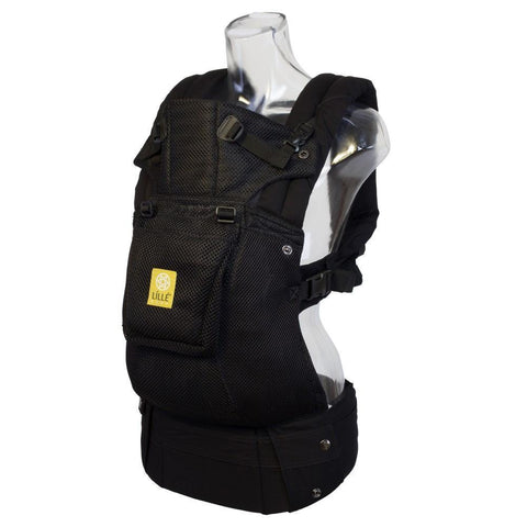 LÍLLÉbaby Complete Airflow Black Baby Carrier - Naked Baby Eco Boutique - New Zealand Eco Friendly Organic Baby Products - 2