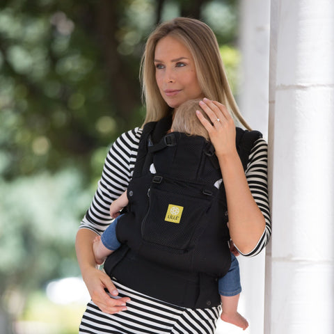 LÍLLÉbaby Complete Airflow Black Baby Carrier - Naked Baby Eco Boutique - New Zealand Eco Friendly Organic Baby Products - 5