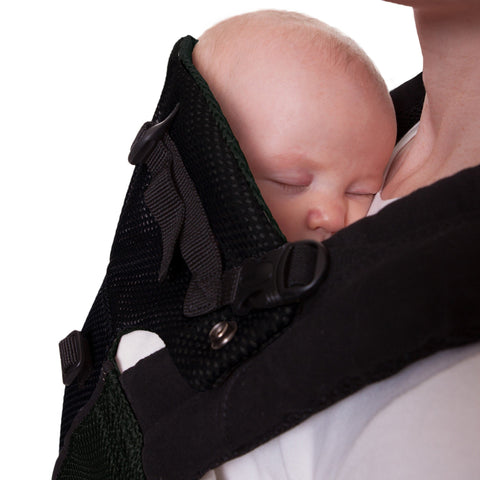 LÍLLÉbaby Complete Airflow Black Baby Carrier - Naked Baby Eco Boutique - New Zealand Eco Friendly Organic Baby Products - 4