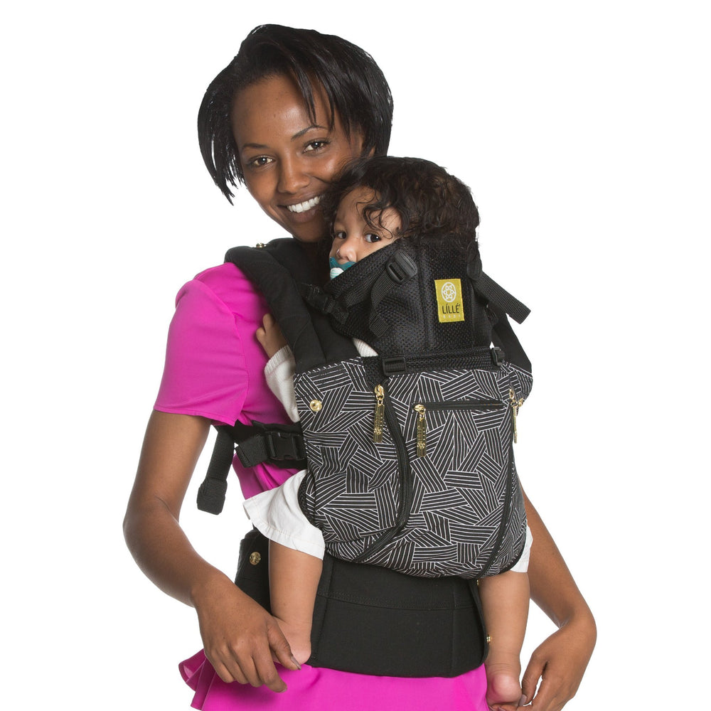 LÍLLÉbaby Complete All Seasons 5th Avenue Baby Carrier - Naked Baby Eco Boutique - New Zealand Eco Friendly Organic Baby Products - 1