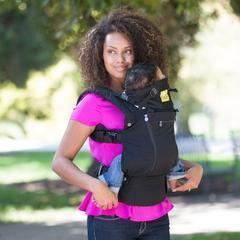 LÍLLÉbaby Complete All Seasons Blue Lagoon Baby Carrier - Naked Baby Eco Boutique - New Zealand Eco Friendly Organic Baby Products - 9