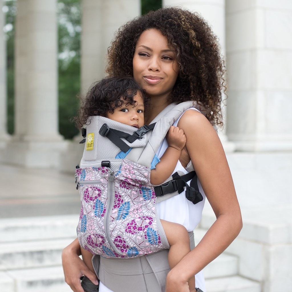 LÍLLÉbaby Complete All Seasons Fall in Fern Baby Carrier - Naked Baby Eco Boutique