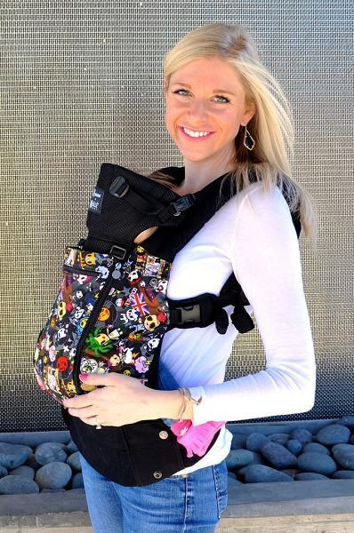 LÍLLÉbaby Complete All Seasons Toki Doki Rebel Baby Carrier - Naked Baby Eco Boutique