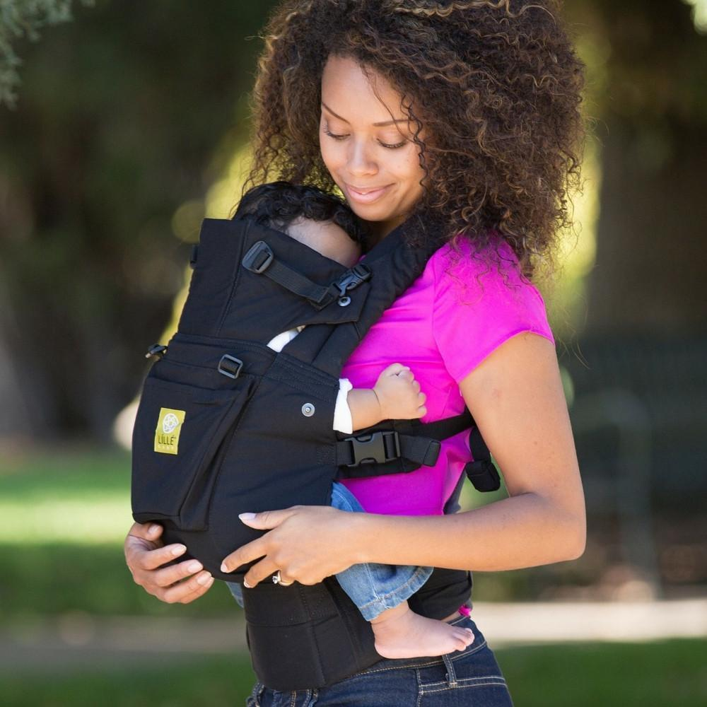 LÍLLÉbaby Complete Original Black Baby Carrier - Naked Baby Eco Boutique - New Zealand Eco Friendly Organic Baby Products - 1