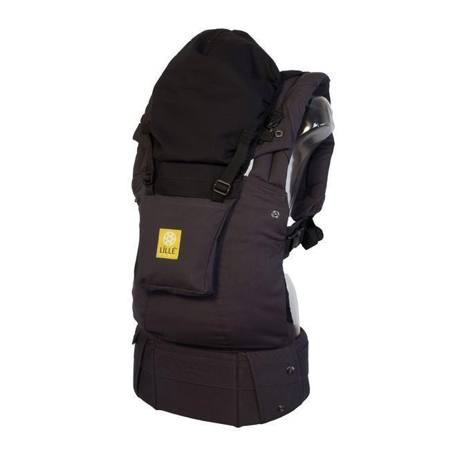 LÍLLÉbaby Complete Original Charcoal Baby Carrier - Naked Baby Eco Boutique