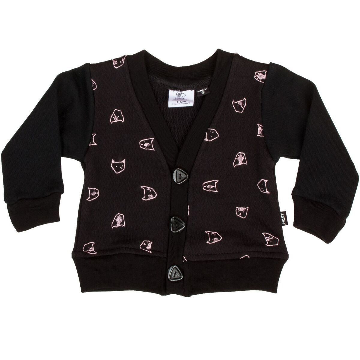 99091511d2 Little Flock of Horrors Merino Wool Little Pop Cardigan | Kids ...