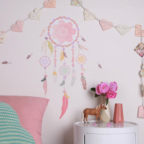 Love Mae Dream Catcher Fabric Wall Decals - Naked Baby Eco Boutique