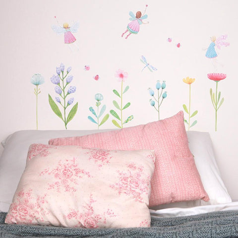 Love Mae Fairy Garden Fabric Wall Decals - Naked Baby Eco Boutique - New Zealand Eco Friendly Organic Baby Products - 3