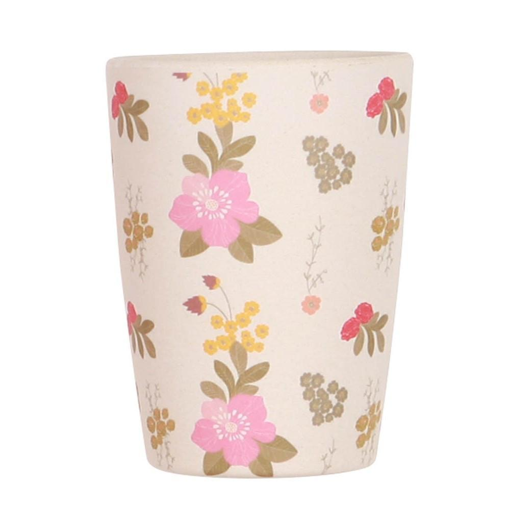 Love Mae Floral Tumbler - Naked Baby Eco Boutique