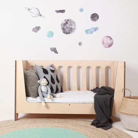 Love Mae Night Sky Fabric Wall Decals - Naked Baby Eco Boutique