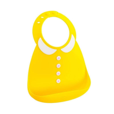 Peter Pan Collar Make My Day Silicone Baby Bibs (Multiple Designs) - Naked Baby Eco Boutique