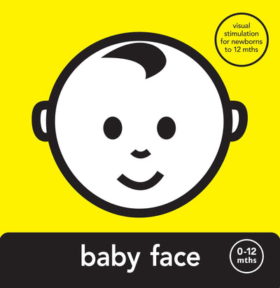Mesmerised Baby Face Board Book - Naked Baby Eco Boutique