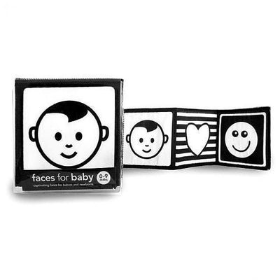 Mesmerised Faces for Baby Cloth Book - Naked Baby Eco Boutique