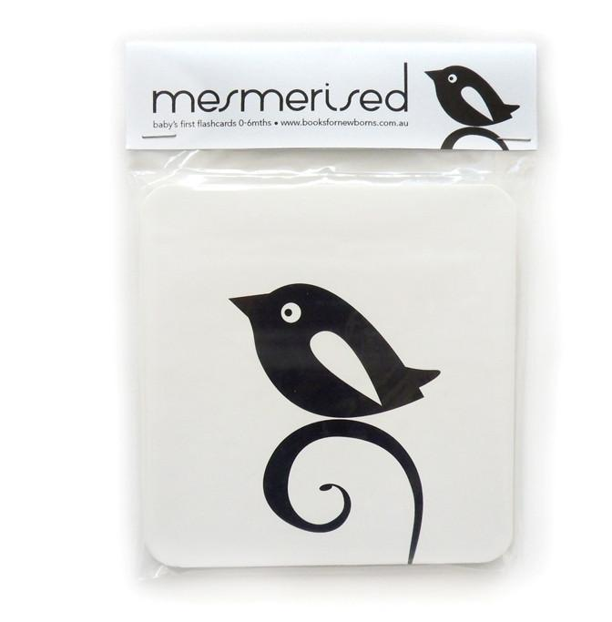 Mesmerised Flash Cards - Naked Baby Eco Boutique - New Zealand Eco Friendly Organic Baby Products - 1