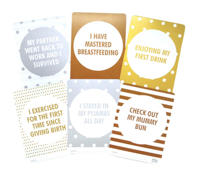 Mimosa Designs Mummy Milestone Cards - Naked Baby Eco Boutique