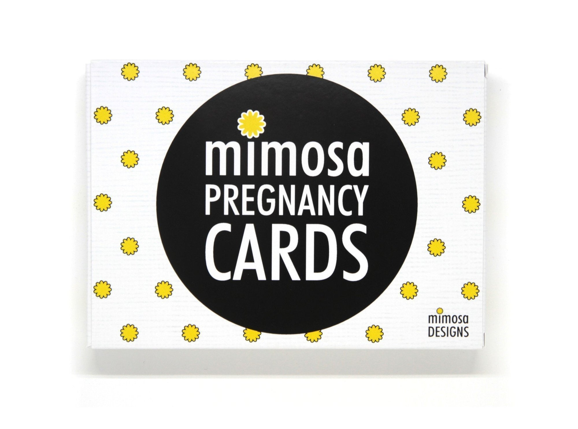 Mimosa Designs Pregnancy Milestone Cards - Naked Baby Eco Boutique