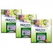Moltex XL Nappies - Size 6 (16-30 kg) - Bulk 3-Pack (81 Nappies) - Naked Baby Eco Boutique