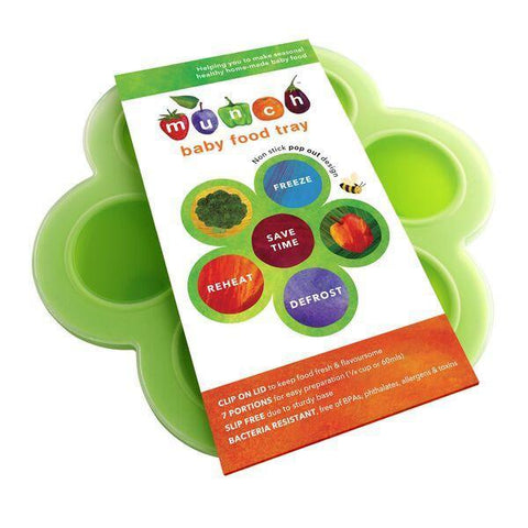 Munch Baby Food Tray - Naked Baby Eco Boutique - New Zealand Eco Friendly Organic Baby Products - 2