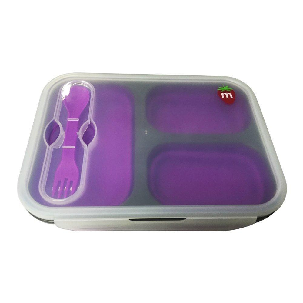 Munch Bento Box Lunch Kit & Food Storage in Purple