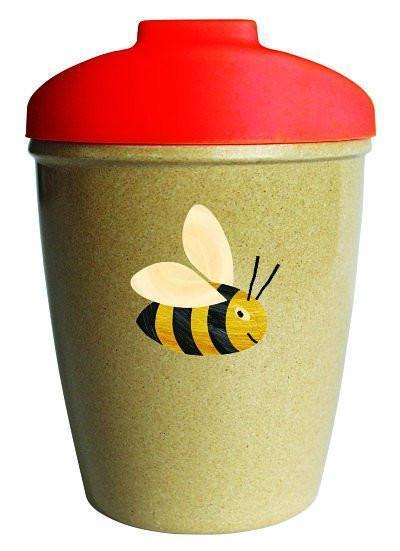 Munch Eco Hero Toddler Cup - Bee - Naked Baby Eco Boutique - New Zealand Eco Friendly Organic Baby Products - 1