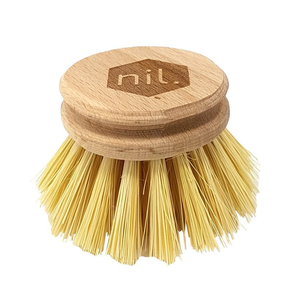 Munch Nil Biodegradable Dish Brush Replacement Head - Naked Baby Eco Boutique
