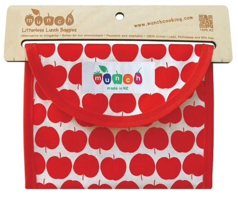 Munch Reusable Lunch Bags - Naked Baby Eco Boutique - New Zealand Eco Friendly Organic Baby Products - 2