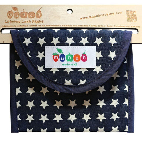 Munch Reusable Lunch Bags - Naked Baby Eco Boutique - New Zealand Eco Friendly Organic Baby Products - 6