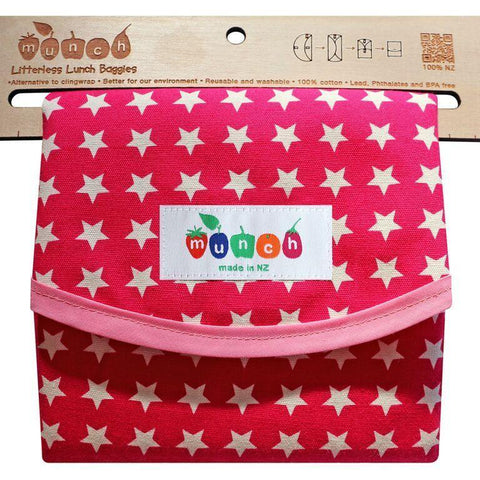 Munch Reusable Lunch Bags - Naked Baby Eco Boutique - New Zealand Eco Friendly Organic Baby Products - 8
