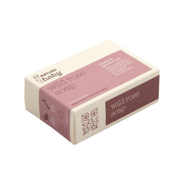 Nature Baby Mum's Wild Rose Soap - Naked Baby Eco Boutique - New Zealand Eco Friendly Organic Baby Products