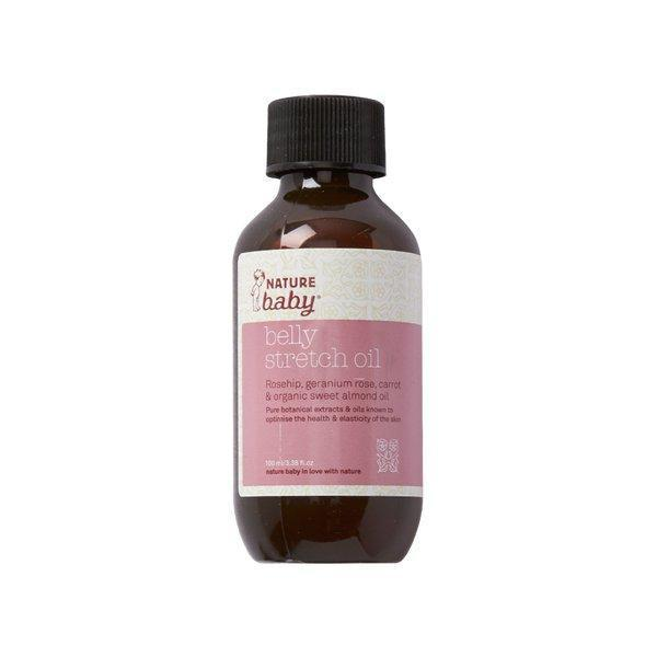 Nature Baby Organic Belly Stretch Oil - Naked Baby Eco Boutique - New Zealand Eco Friendly Organic Baby Products