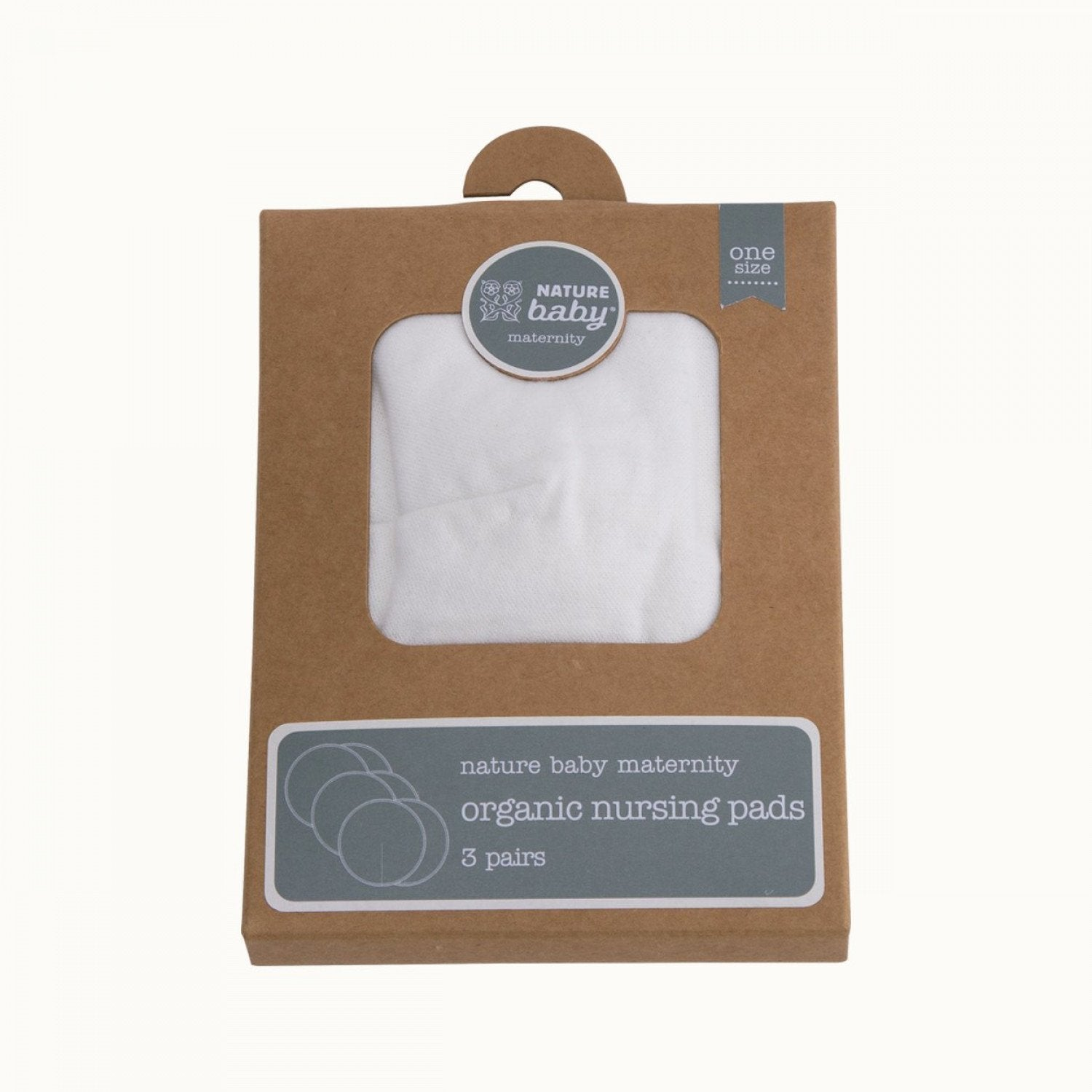 Nature Baby Organic Cotton & Bamboo Nursing Pads - Naked Baby Eco Boutique