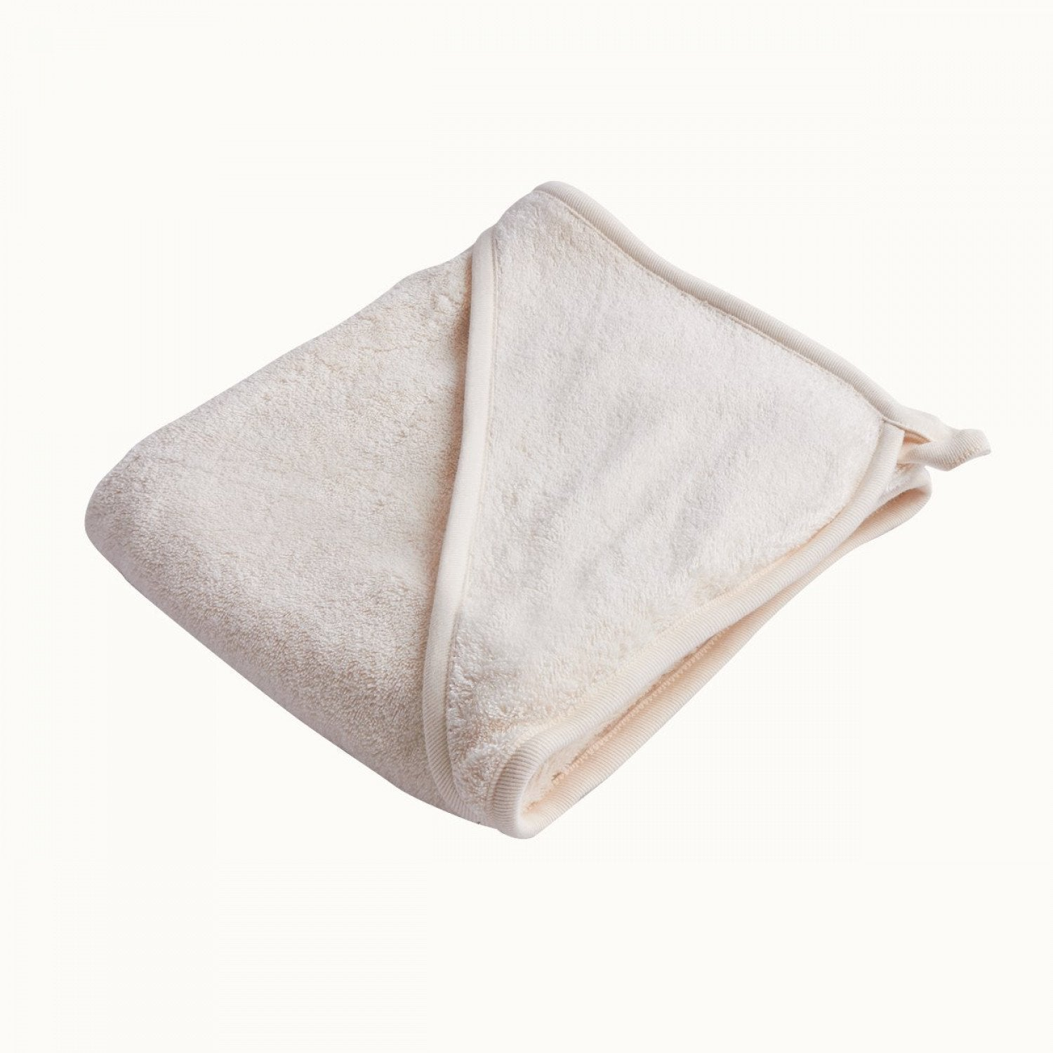 Nature Baby Organic Cotton Hooded Baby Bath Towel - Naked Baby Eco Boutique