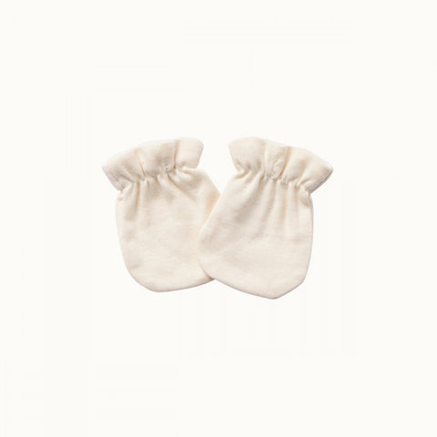 Natural Nature Baby Organic Cotton Newborn Baby Mittens (Multiple Variants) - Naked Baby Eco Boutique