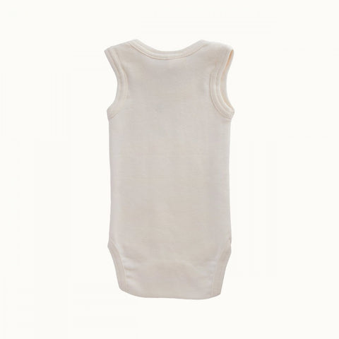Nature Baby Organic Cotton Singlet Onesie (Multiple Variants)