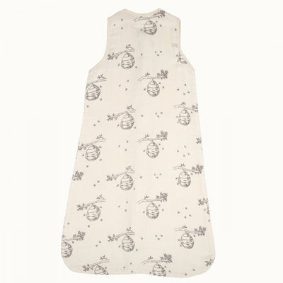 Beehive Nature Baby Organic Muslin Sleeping Bag (Multiple Variants) - Naked Baby Eco Boutique