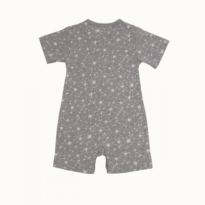 0-3 Months Nature Baby Short Sleeve Organic Pyjama Suit - Naked Baby Eco Boutique