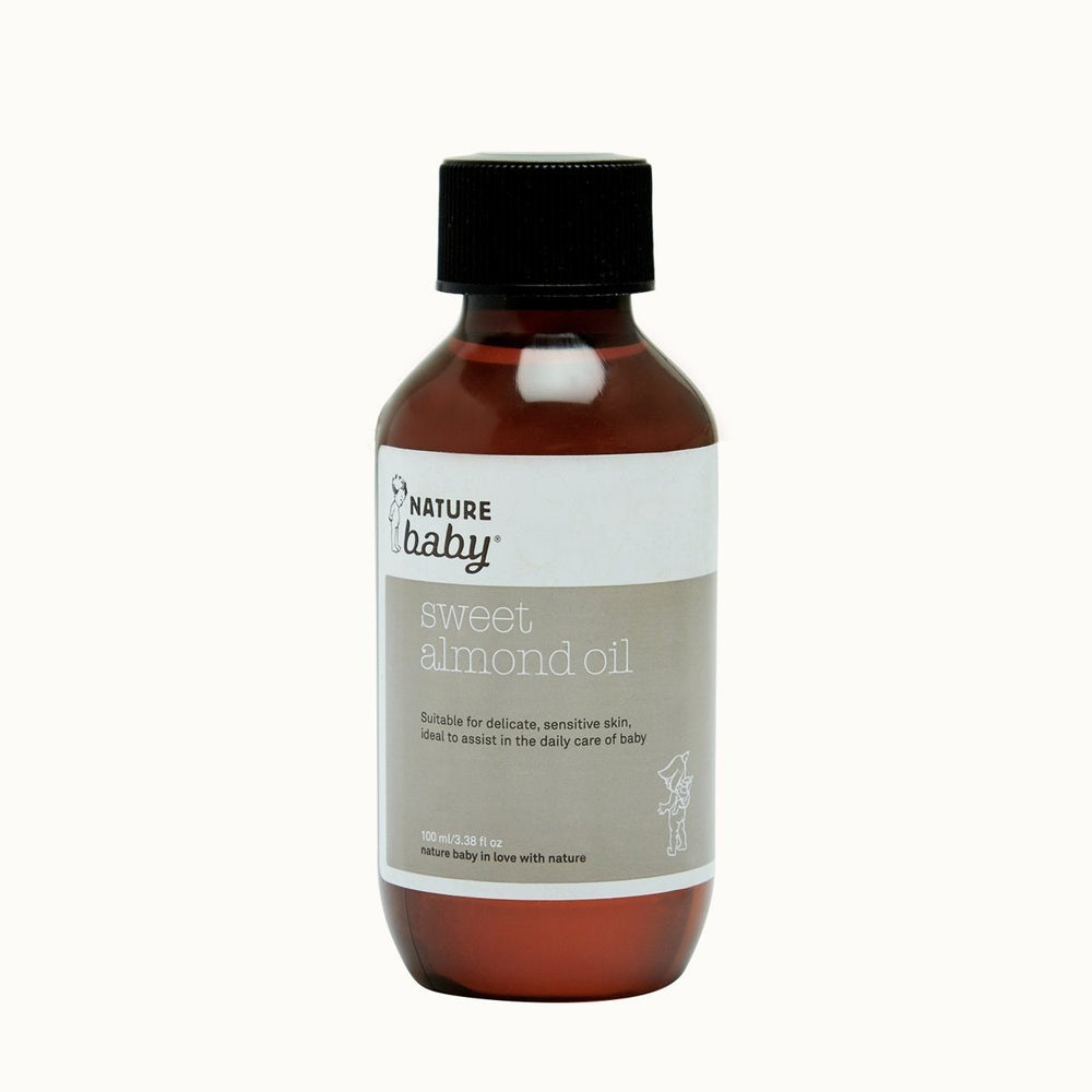 100 ml Nature Baby Sweet Almond Oil - Naked Baby Eco Boutique