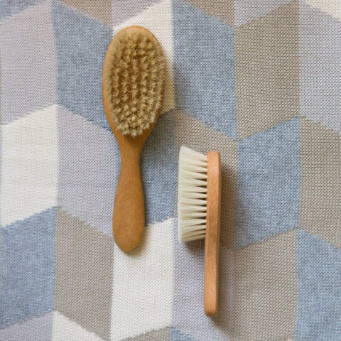 Nature Baby Wooden Toddler Hair Brush - Naked Baby Eco Boutique